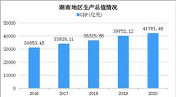 2020年湖南经济运行情况分析:GDP突破4万亿 (图)