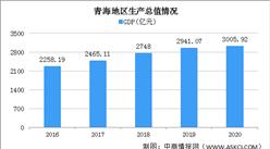 2020年青海统计公报:GDP总量3006亿 固定资产投资下降12.2%(附图表)