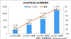 快讯:2020年黑龙江GDP总量13698.5亿 同比增长1.0%(图)