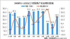 2020年12月辽宁省饮料产量数据统计分析