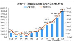 2020年12月湖南省集成电路产量据统计分析