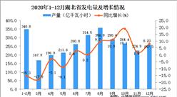 2020年12月湖北省发电量据统计分析