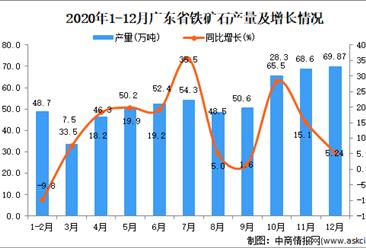 2020年12月广东省铁矿石数据统计分析