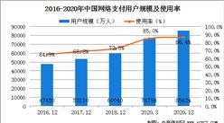2020年中国网络支付使用率近九成   数字货币试点进程全球领先(图)