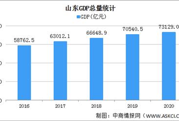 2020年山东统计公报:GDP总量73129亿 固定资产投资增长3.6%(附图表)