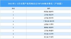 产业地产投资情报:2021年1-2月全国产业用地出让TOP100地市排名(产业篇)