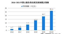 2021年中国云服务的市场规模及发展前景预测分析