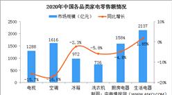 2020年我国家电市场零售额达8333亿 网络零售额渗透率首超50%(图)