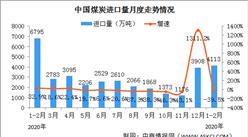 2021年1-2月份能源生產情況:發電量同比增長19.5%(圖)