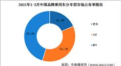 2021年1-3月中国品牌乘用车销售情况:法系美系乘用车销量翻倍(图)