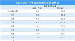 2021年4月中国新能源汽车销量20.6万辆 同比增长180.3%(图)