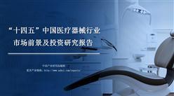 """中商产业研究院:《2021年""""十四五""""中国医疗器械行业市场前景及投资研究报告》发布"""