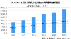 2021年中国互联网和相关服务行业及细分领域市场规模预测分析(图)