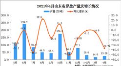 2021年4月山东省原盐产量数据统计分析
