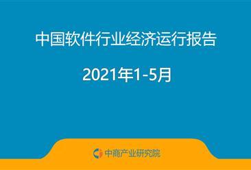 2021年1-5月中国软件行业经济运行报告(附全文)