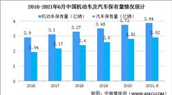 2021年上半年全国汽车保有量2.92亿辆 北京等18个城市超300万辆(图)