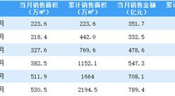 2021年6月融创中国销售简报:销售额同比增长44.66%(附图表)