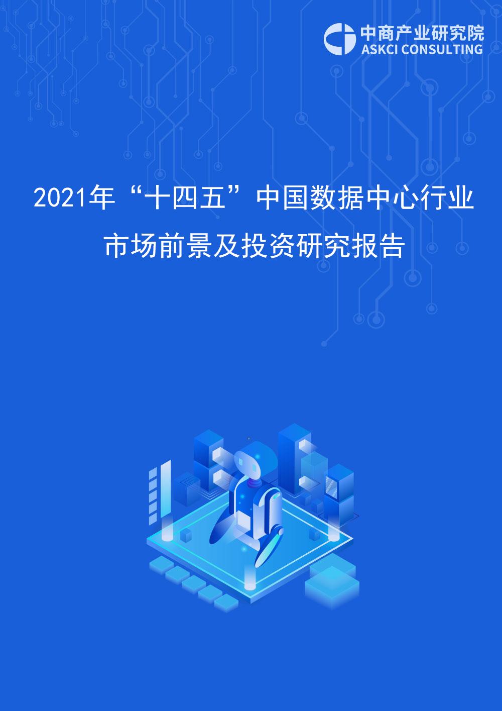 """2021年""""十四五""""中国数据中心行业市场前景及投资研究报告"""