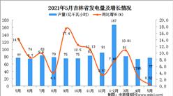 2021年5月吉林省发电量数据统计分析