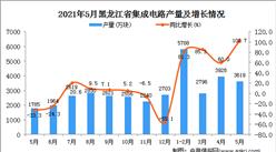 2021年5月黑龍江集成電路產量數據統計分析