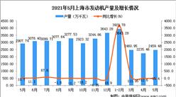 2021年5月上海市发动机产量数据统计分析
