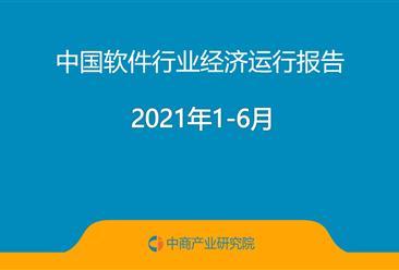 2021年1-6月中国软件行业经济运行报告(附全文)
