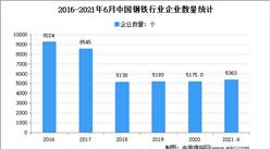 2021年上半年中國鋼鐵行業運行情況回顧及下半年發展前景預測(圖)