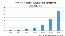 2021年中国数字信息服务行业市场规模及市场推动因素预测分析(图)