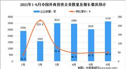 2021年上半年中��外商投�Y企№�I大���分析:企�I共�1.56�f家