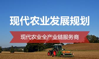 現代農業發展規劃
